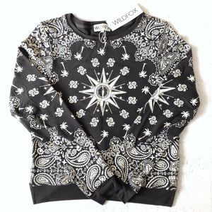 NWT Wildfox Couture Bandana Jumper Sweater